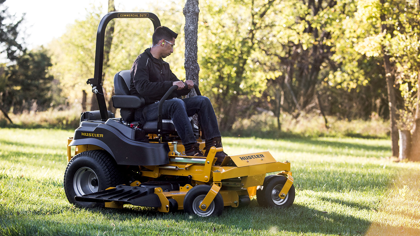Ratings of fastrak hustler mower